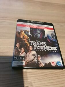 Transformers: The Last Knight - 4K Ultra HD + Blu Ray + Bonus Disc + FREE POST