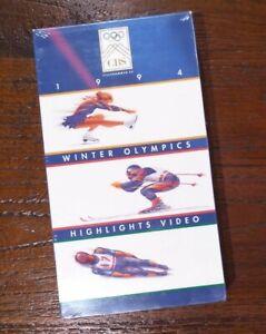 1994 Winter Olympics Highlights VHS Harding/Kerrigan/Lillehammer BRAND NEW