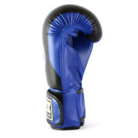 WYOX Boxing Gloves MMA Punching Bag Sparring Blue 10 12 14 16 oz
