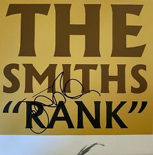 Johnny Marr Hand Signed Poster - The Smiths - Rank - Music Autograph.