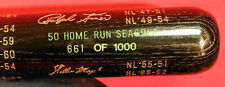 50 HOME RUN SEASONS LIMITED EDITION HOF BAT WITH M.MANTLE,B.RUTH W.MAYS & MORE