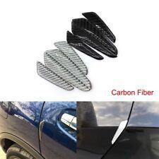 Car Carbon Fiber Auto Door Protector Edge Scrape Guards Cover Strip Anti Scratch