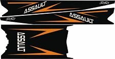 POLARIS RUSH PRO RMK ASSAULT 144 155 163 STAR TOP assault TUNNEL DECAL orange 14