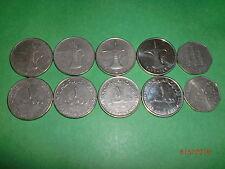 - UNITED ARAB EMIRATES(UAE) - 5 OLD & NEW COINS - BIG & HEAVY - 1998-2012 # 5IQ4