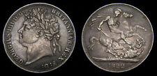 1822 Great Britain Silver Crown .8409 King George IV S-3805 Toned VF+ 6314