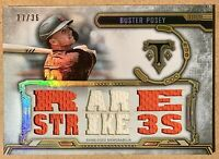 2020 Topps Triple Threads Buster Posey Game Used Memorabilia #'d 17/36 SF Giants