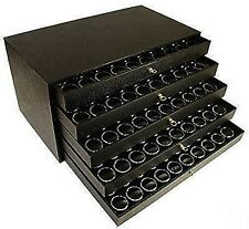50 State Quarter Coin Jar Display Organizer 5 Drawer Cabinet Holds 5 Sets