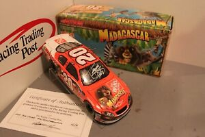 2005 Tony Stewart Home Depot Madagascar 1/24 Action NASCAR Diecast Autographed
