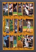 2002 Topps Pittsburgh Pirates TEAM SET
