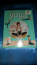 Simply Yoga Instructional Guide Illustrated Color Book & DVD Box Set