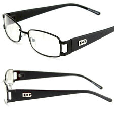 Mens Womens DG Eyewear Clear Lens Frame Eye Glasses Rectangular Designer Fashion