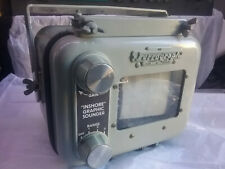Vintage Rare Ferrograph Inshore Graphic Depth Sounder 12V Made in England