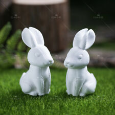3D Easter Rabbit Silicone Soap Mold Candle Mold for Handmade Craft Plaster Resin
