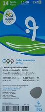Ticket 14.8.2016 Olympics Rio Diving High Diving #E52