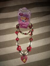 DISNEY SNOW WHITE STRETCH NECKLACE & BRACLET SET  BNWT FREE POSTAGE (L)