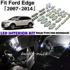 12x White LED Interior Lights Package Kit For 2007 - 2012 2013 2014 Ford Edge