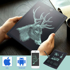 "12"" Electronic Digital LCD Writing Pad Tablet Drawing Graphics Board Notepad"