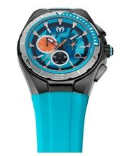 Technomarine Watch * Cruise Steel Camo Magnum Turquoise 110071 COD #crazy1212
