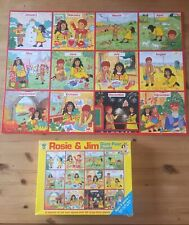 Rosie & Jim Giant Floor Puzzle jigsaw.Months Of Year.Excellent Condition 69x49cm