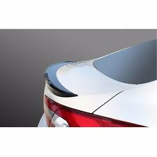 New Rear Trunk Wing Lip Spoiler Space for Kia Forte/Cerato 2014-2016 - Black