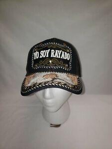 Rayados de Monterrey-SOY RAYADO- GORRA CHARRA/VAQUERA- HAT. CAP. CACHUCHA.