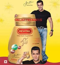 Revital Daily Health Supplement Enriched with Vitamins Minerals Ginseng Refresh