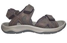 Men's Eddie Bauer Hank Grey 3 Strap River Sandals Size 12 M - NWT