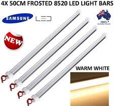 4X 50CM 8520 WARM WHITE LED STRIP LIGHT BAR CARAVAN CAMPING BOAT TENT FISHING