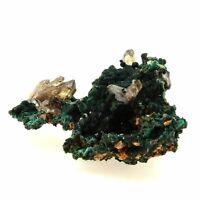 Malachite + Cerusite. 198.4 Ct. Tsumeb Mine, Otjikoto Region, Namibia