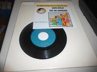 David Seville and The Chipmunks Alvin's Harmonica 45 rpm Record 1959 Liberty