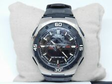Casio 4398 AQ-164W Dual Time Watch Sale As Is