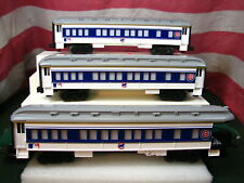 3 Lionel Chicago Cubs Madison Passenger Cars Major League Baseball New MINT