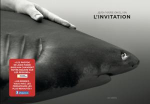 BEAU LIVRE - L'INVITATION / JEAN-MARIE GHISLAIN, LES ARENES, NEUF