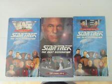 Star Trek: The Next Generation 3 VHS Set
