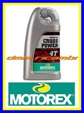 1 Litro Olio Motore 4 tempi MOTOREX Cross Power 4T 10W/50 Sintetico (KTM)