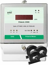 Dae P256-400-S Kit, 400A, 277/480v, Rs485,Ul kWh Smart Submeter, 3P4W, 3 Cts