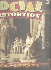 "Social Distortion ""Hard Times and Nursery Rhymes"" clear vinile 2lp + CD"