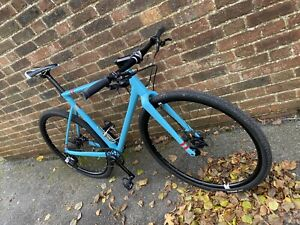 "Giant Custom Hybrid Bike Medium 54cm / 21"" TCX Alloy Frame 700c Wheels Mountain"