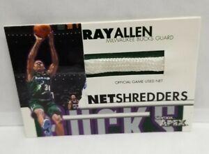 1999 Skybox APEX Ray Allen Net Shredders Net Piece #6