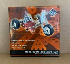 Marks & Spencer. MECCANO CONSTRUCTION SET. Motorcycle and side car