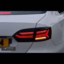 LED Black Audi Style Tail Lights For Volkswagen Jetta Mk6 2012~2014