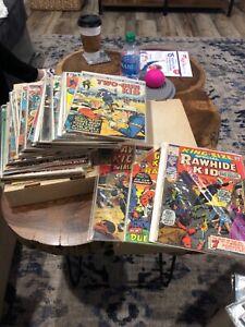 Marvel Kid Colt Rawhide kid Two Gun Silver Bronze Age Western lot of 40 comics