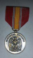 Vintage Military National Defense Service Medal