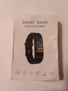 Smart Watch Health Bracelet Heart Rate Blood Pressure Band Fitness Tracker Men 1