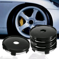 4Pcs 60mm Universal Car Wheel Tire Rims Center Hub Caps Cover Decorative Plastic