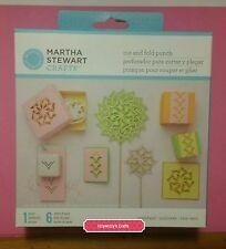 Martha Stewart Cut and Fold PINWHEEL paper craft punch new (1600)