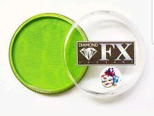 Diamond fx facepaint..essential light green💕💖