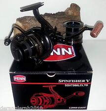 PENN Spinfisher SSV 7500 LC Black Limited Edition Karpfenrolle