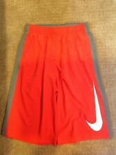 NWOT Nike Dri-Fit Shorts Red Gray Size Large