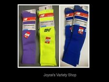 New Balance All Sport Socks Adult Sz M Two Pair Same Color Choice